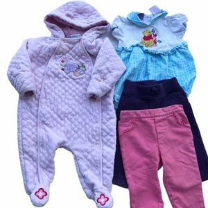 Baby Girl's 6-9 Month Clothes Bundle